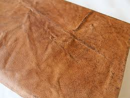 distressed leather for diy book cover