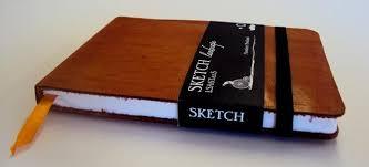 monsieur notebook leather sketchbook tan a5 landscape the ultimate art sketch book 12 99 pegs art