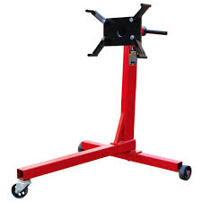 big red 750 lb engine stand