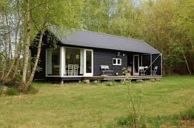 Small Picture Mon Huset Danish modular summer cabins Prefab Cabins