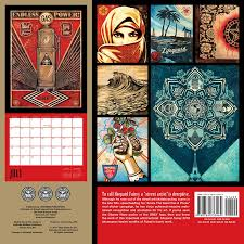 Small Picture Shepard Fairey 2018 Wall Calendar