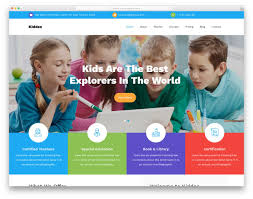 Templates For Education 33 Best Free Education Website Templates With Premium