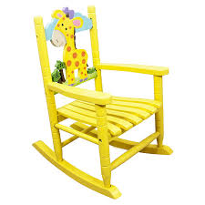 childrens wooden rocking chair. teamson kids childrens giraffe jungle rocking chair wooden rocker seat nursery furniture toy w-8339a: amazon.co.uk: baby e