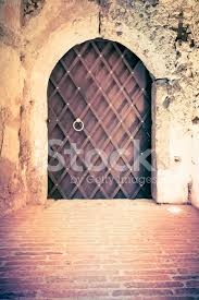 old door inside a castle