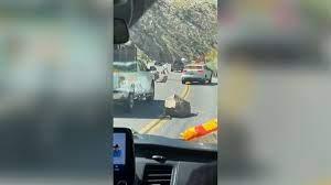 California earthquake sends boulders ...
