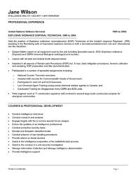 Federal Law Enforcement Resume Samples Promotion Professional Sample