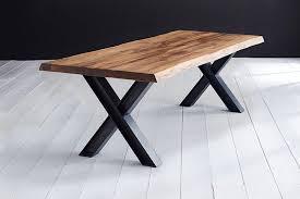 Bodahl Esstisch Concept4you Mit Baumkante Und X Bein In
