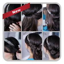 Hairstyle Easy Step By Step easy hairstyles step by step android apps on google play 8470 by stevesalt.us