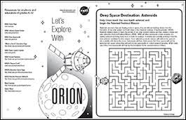 Download free coloring sheets to spark your kids' creativity anywhere—at home, in a waiting room, or on a plane. Orion Activities And Coloring Sheets For Kids Nasa