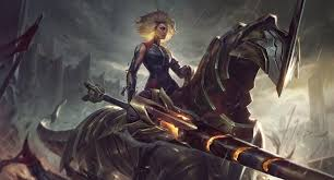 New League of Legends champion, Rell, the <b>Iron Maiden</b> — kit ...