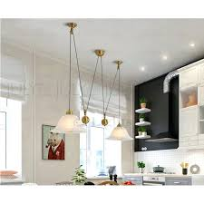 pull down chandelier brass 2 light pull down pendant light fixture pulley shaped polished brass 2 pull down chandelier