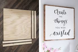 Board Create Wood Sign Like Angela Marie Made And Customize Calligraphy To Your Liking This Wood Wall Decor Can Be Hung In The Shutterfly 25 Best Wood Wall Decor Ideas Shutterfly