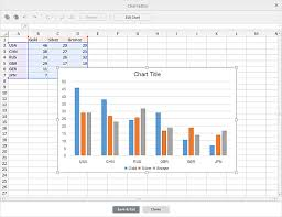 Insert And Edit Charts Onlyoffice