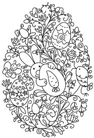 Kleurplaat Pasen Lentepasen Knutselen Pasen Groep 3 Pasen E