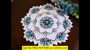 crochet crochet tablecloth pattern