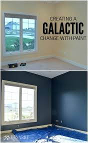 Sherwin Williams Bedroom Color Outerspace Paint Creating A Galactic Change