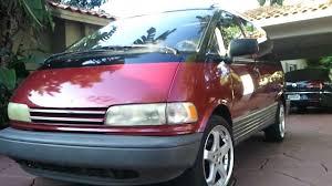 My 1994 Toyota Previa LE. - YouTube