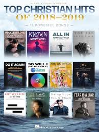 Top Christian Hits Of 2018 2019 Songbook