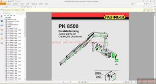 palfinger pk8500 hydraulic crane spare parts list auto repair more the random threads same category