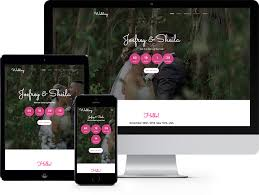 Wedding Website Template Extraordinary Wedding Free HTML28 Bootstrap Template For Wedding Websites