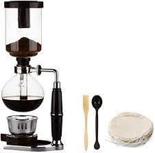 Only us$40.99, buy best japanese style siphon 360ml glass coffee maker tea siphon pot vacuum coffee maker coffee machine filter kahve makinas sale online store at wholesale price. Amazon Com Japanese Style Siphon Coffee Maker Tea Siphon Pot Vacuum Coffeemaker Glass Type Coffee Machine Filter Kahve Makinas 5cup Silver Kitchen Dining