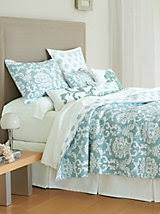 Providence Damask Quilt and other Home Bedroom at Linen Source ... & Providence Damask Quilt and other Home Bedroom at Linen Source. |  linensource Adamdwight.com