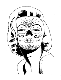 Small Picture 222 best Sugar Skulls Day of the Dead Coloring Pages for Adults