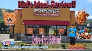 popeyes kids meal kids favorite food