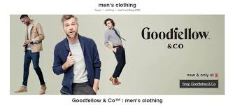 Goodfellow Co Thermal Pant Size Chart Novel Menswear Brands Goodfellow Co