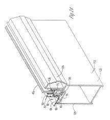patent us6769214 strip for retaining storm door window