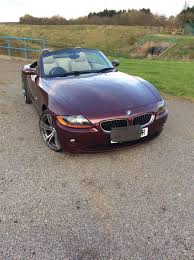Coupe Series 2004 bmw roadster : Used 2004 BMW Z4 Roadster Z4 SE ROADSTER for sale in Lincolnshire ...