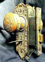 glass door knobs for sale. Old Fashioned Door Lock Knobs Vintage For Sale  Sold Antique Hardware Set With Glass Door Knobs For Sale