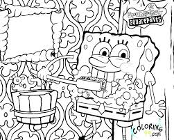 Gangsta Coloring Pages To Print Color Page Gangster Of Spongebob