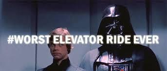 people talking in elevator. elevator people talking in