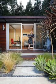 outside office shed. Chelsea Hadley Relaxes Outside Her Luxury Storage-shed Conversion In Beverly Hills, Calif. Office Shed M
