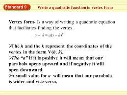quadratic equation standard form to vertex calculator jennarocca