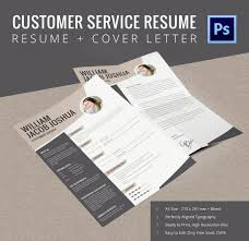 Free Customer Service Resume Templates Amazing 48 Customer Service Resume Templates DOC PDF Excel Free