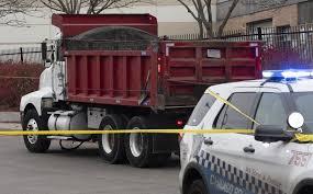 Truck Driver Ticketed For Fatal Bike Crash Chicago Tribune