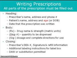 Pharmacology Prescription Writing For Dentistry Youtube