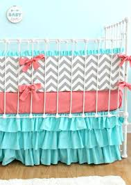 pink chevron crib bedding lottieda zig zag and gray baby hot nursery uk