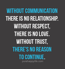 Relationship Quote Without Communication There Is No Relationship Magnificent No Love Quotes