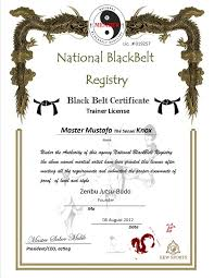 martial arts certificate template karate certificate templates free download best of awesome