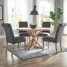 dining room chairs grey dark grey linen on tufted dining chair dining table chair gray