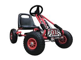 Go Kart Car Design Kiddo Rg0209 Racer Design Red Kids Childrens Pedal Go Kart