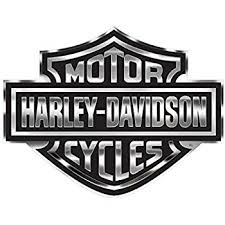 amazon com harley davidson decal chrome bar shield logo x