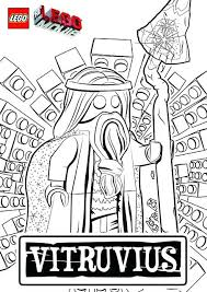 Lego Movie Coloring Sheets The Movie Coloring Pages By Via Lego