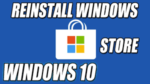 Windows 10 Reinstall Store How To Reinstall The Windows Store In Windows 10 Tutorial