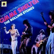 Image result for gimme shelter rolling stones 45