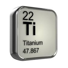 3d Periodic Table - 22 Titanium Wall Mural • Pixers® • We live to ...