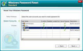 windows 7 admin pword reset methods